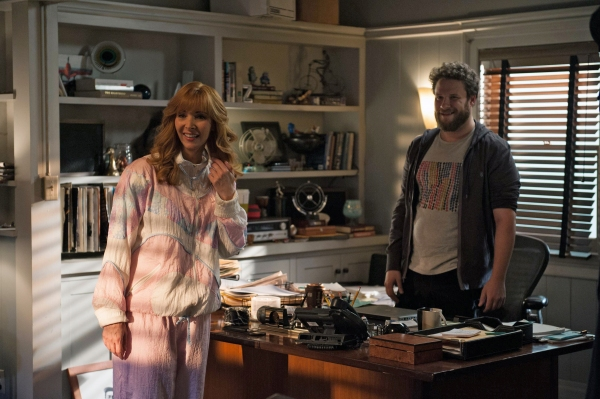 Lisa Kudrow as Valerie Cherish, Seth Rogen as himself